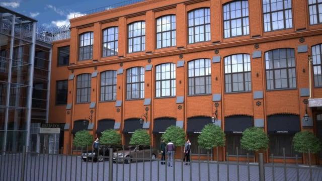 3D анимация здания