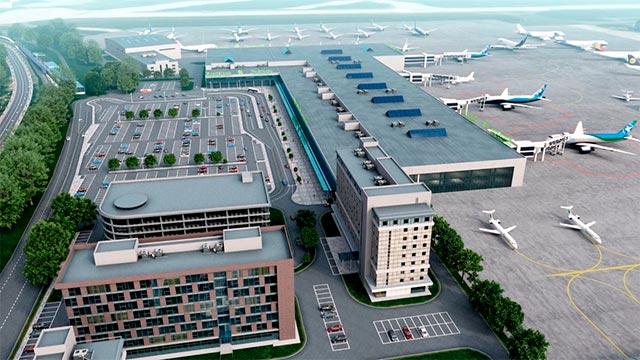 3D анимация аэропорта Жуковский